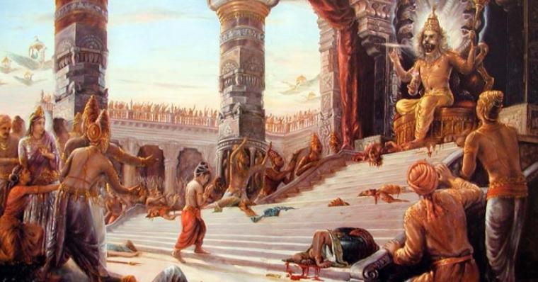 День явления Господа Нрисимхадева