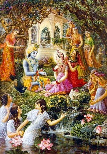 Шри Кришна Пушья Абхишека