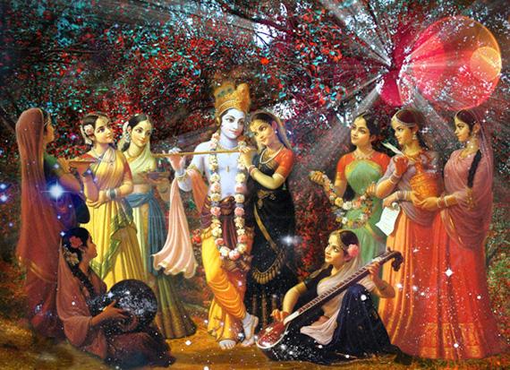 Шри Кришна Васанта Раса